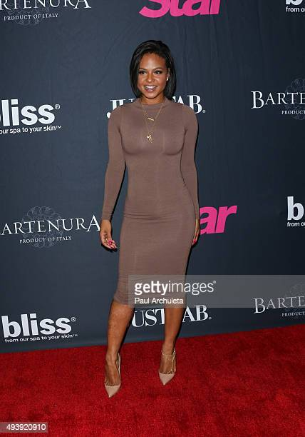 Actress Christina Milian attends Star Magazine's Scene Stealers party at The W Hollywood on October 22 2015 in Hollywood California
