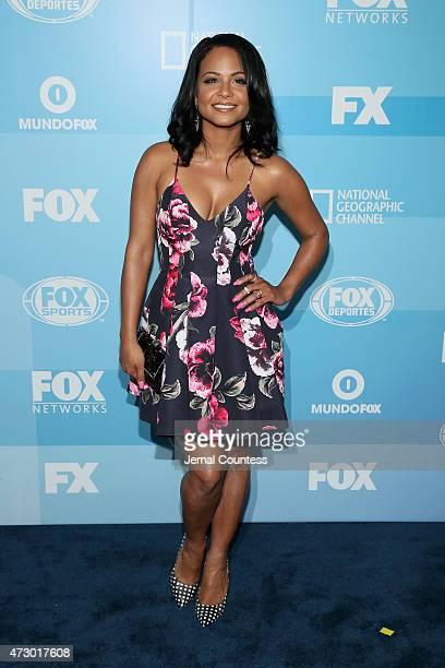 Actress Christina Milian attends the 2015 FOX programming presentation at Wollman Rink in Central Park on May 11 2015 in New York City