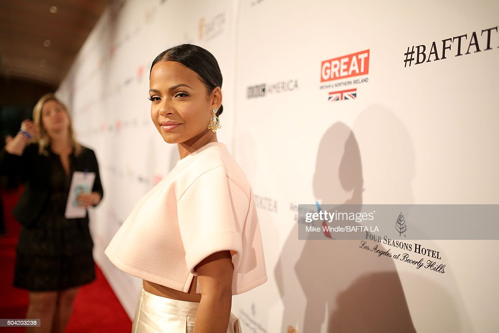 Actress Christina Milian attends the BAFTA Los Angeles Awards Season Tea at Four Seasons Hotel Los Angeles at Beverly Hills on January 9, 2016 in Los Angeles, California.