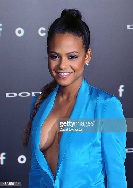 Actress Christina Milian attends the premiere of Warner Bros Pictures' 'Focus' at the TCL Chinese Theater on February 24 2015 in Hollywood California