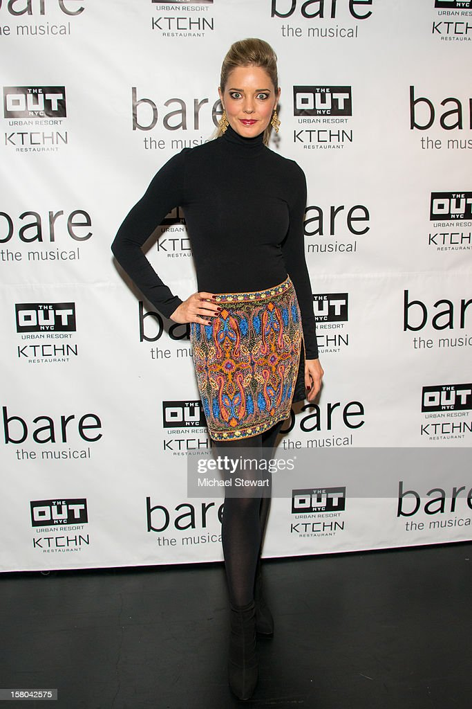 Actress Christina Moore attends 'BARE The Musical' Opening Night at New World Stages on December 9, 2012 in New York City.
