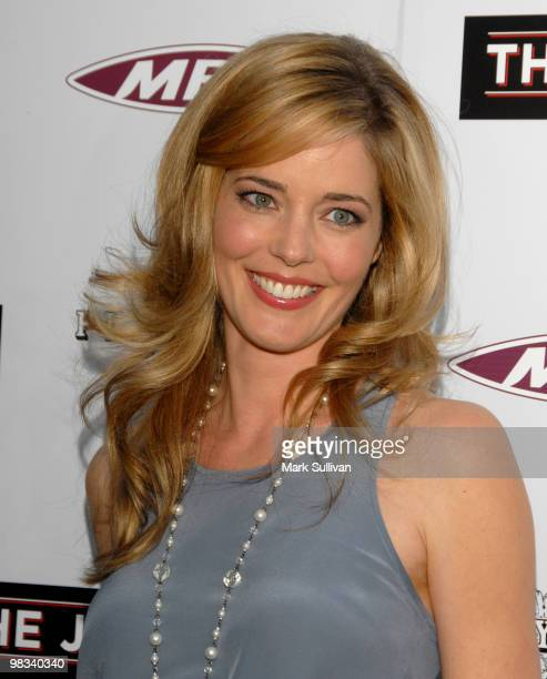 Actress Christina Moore attends the The Joneses Los Angeles Premiere at ArcLight Cinemas on April 8 2010 in Hollywood California