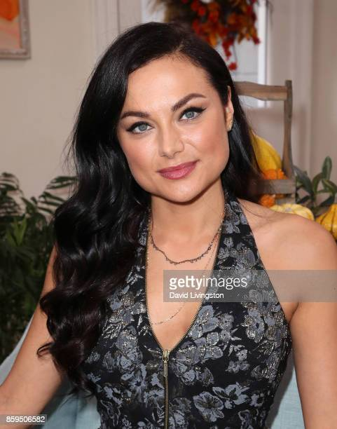 Actress Christina Ochoa attends Hallmark's Home Family at Universal Studios Hollywood on October 9 2017 in Universal City California