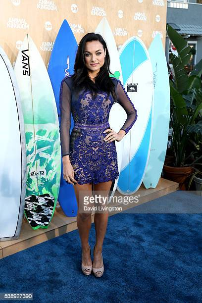 Actress Christina Ochoa attends the premiere of TNT's Animal Kingdom at The Rose Room on June 8 2016 in Venice California