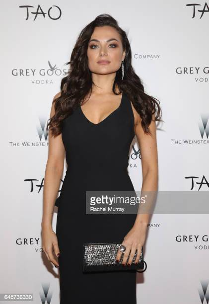 Actress Christina Ochoa attends The Weinstein Company's Academy Awards viewing and after party in partnership with Grey Goose at TAO Los Angeles on...