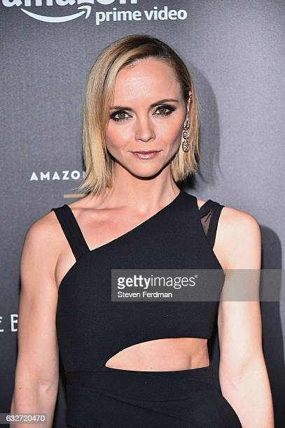 Actress Christina Ricci attends Amazon's New Series 'Z The Beginning Of Everything' Premiere at SVA Theater on January 25 2017 in New York City