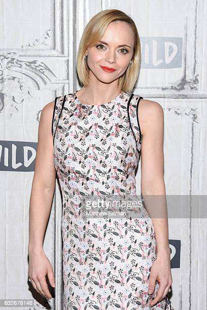Actress Christina Ricci attends Build Series presents Christina Ricci discussing 'Z The Beginning Of Everything' at Build Studio on January 25 2017...