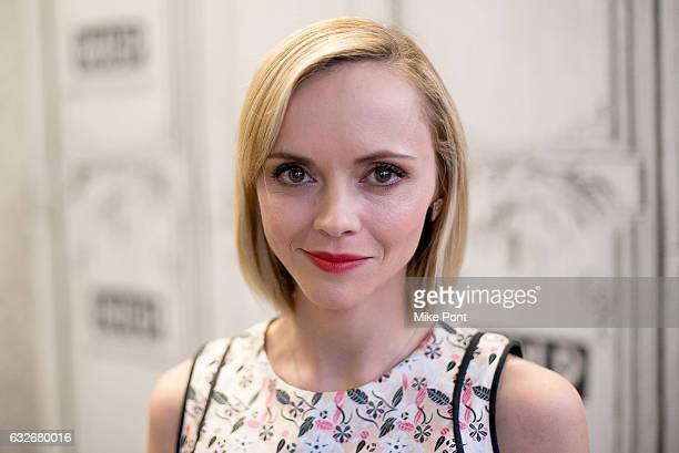 "Actress Christina Ricci attends Build Series to discuss ""Z: The Beginning of Everything"" at Build Studio on January 25, 2017 in New York City."