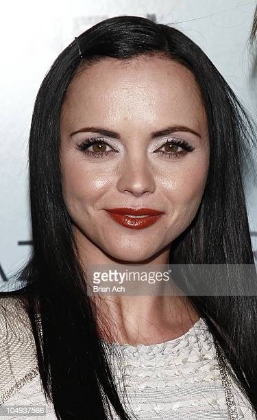 Actress Christina Ricci attends the 2010 Whitney Art Party at 82 Mercer on June 9 2010 in New York City