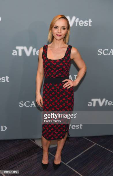 Actress Christina Ricci attends the 5th Annual aTVfest at Four Seasons Hotel on February 4 2017 in Atlanta Georgia