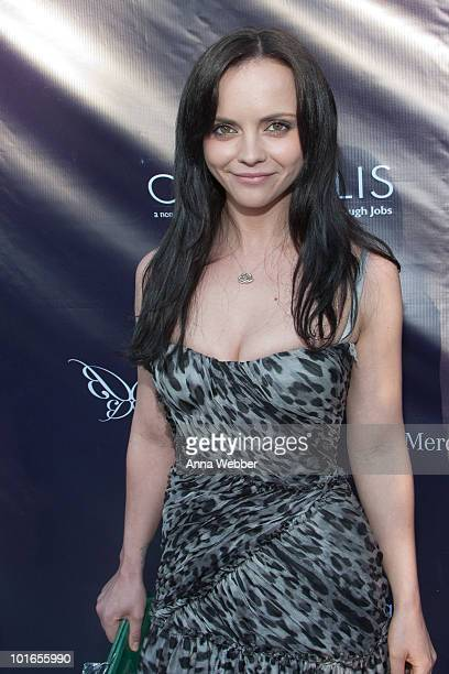 Actress Christina Ricci attends the 9th Annual Chrysalis Butterfly Ball on June 5 2010 in Los Angeles California