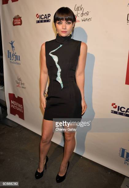 "Actress Christina Ricci attends the after-party following the AFI FEST & AFM screening of ""After Life"" at the Shangri La hotel on November 7, 2009 in..."