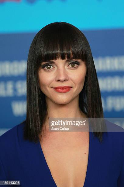 Actress Christina Ricci attends the Bel Ami Press Conference during day nine of the 62nd Berlin International Film Festival at the Grand Hyatt on...