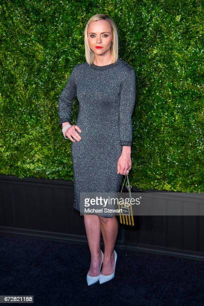 Actress Christina Ricci attends the Chanel Artists Dinner during the 2017 Tribeca Film Festival on April 24 2017 in New York City