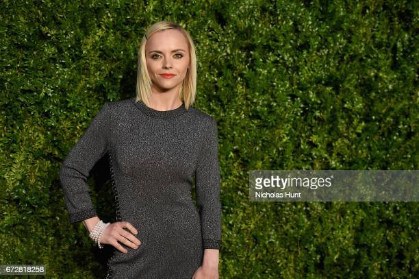 Actress Christina Ricci attends the CHANEL Tribeca Film Festival Artists Dinner at Balthazar on April 24 2017 in New York City