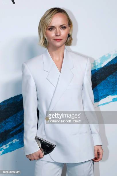 Actress Christina Ricci attends the Dior Homme Menswear Fall/Winter 2019-2020 show as part of Paris Fashion Week on January 18, 2019 in Paris, France.