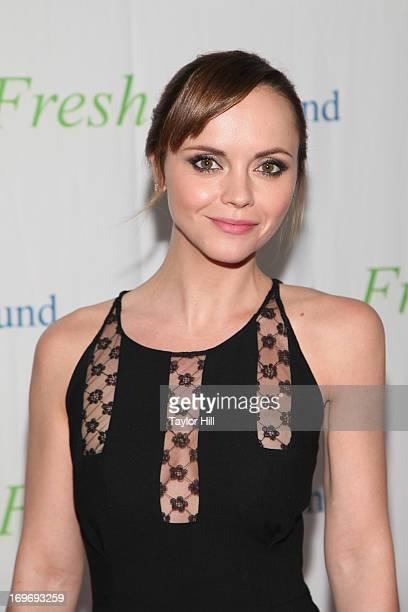 Actress Christina Ricci attends The Fresh Air Fund Salute To American Heroes at Pier Sixty at Chelsea Piers on May 30 2013 in New York City
