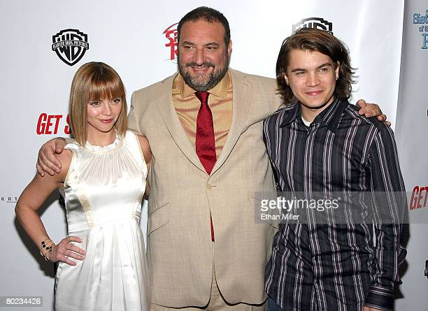 Actress Christina Ricci producer Joel Silver and actor Emile Hirsch arrive at Warner Bros Pictures presentation of 'The Big Picture '08' held at the...