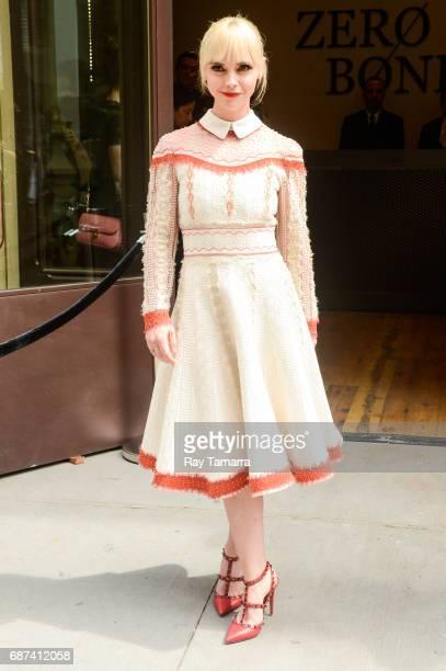 Actress Christina Ricci walks in Soho on May 23 2017 in New York City