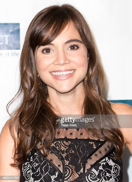 Actress Christina Wren arrives at The Teen Project's Hollywood Red Carpet Event at TCL Chinese 6 Theatres on October 12 2015 in Hollywood California