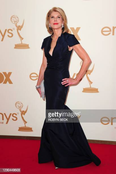 Actress Christine Baranski arrives at the 63rd annual Primetime Emmy Awards at the Nokia Theatre at LA Live in downtown Los Angeles September 18,...