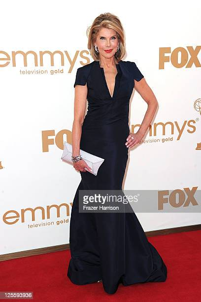 Actress Christine Baranski arrives at the 63rd Annual Primetime Emmy Awards held at Nokia Theatre LA LIVE on September 18 2011 in Los Angeles...