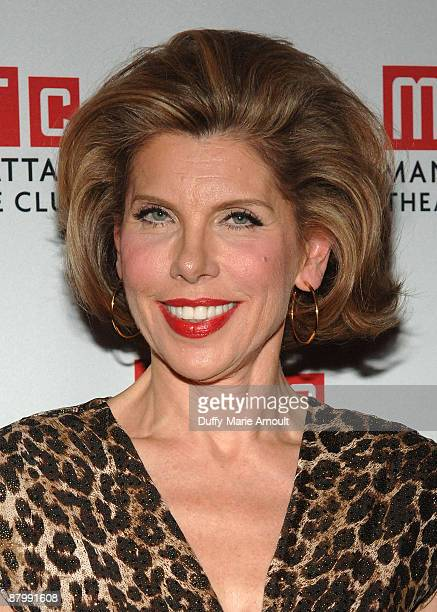 Actress Christine Baranski attends the 2009 Manhattan Theatre Club's spring gala at Cipriani 42nd Street on May 18 2009 in New York City