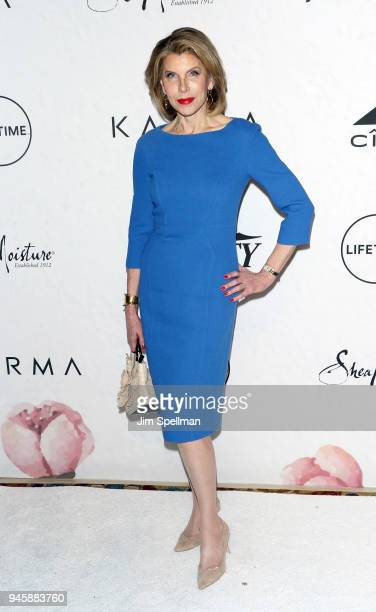 Actress Christine Baranski attends the 2018 Variety's Power of Women New York at Cipriani Wall Street on April 13 2018 in New York City