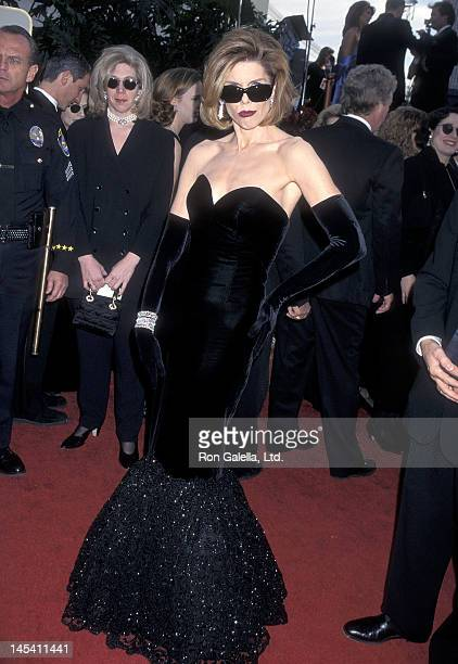 Actress Christine Baranski attends the 54th Annual Golden Globe Awards on January 19 1997 at the Beverly Hilton Hotel in Beverly Hills California