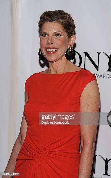 Actress Christine Baranski attends the 62nd Annual Tony Awards at Radio City Music Hall on June 15 2008 in New York City