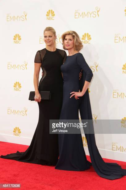 Actress Christine Baranski attends the 66th Annual Primetime Emmy Awards held at Nokia Theatre LA Live on August 25 2014 in Los Angeles California