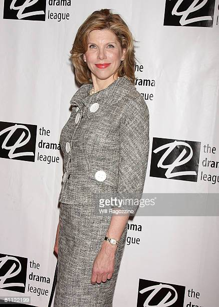 Actress Christine Baranski attends the 74th Annual Drama League Awards Ceremony at the Marriott Marquis Hotel on May 16 2008 in New York City
