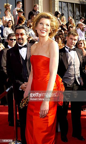 Actress Christine Baranski attends the 9th Annual Screen Actors Guild Awards at the Shrine Auditorium on March 9 2003 in Los Angeles California