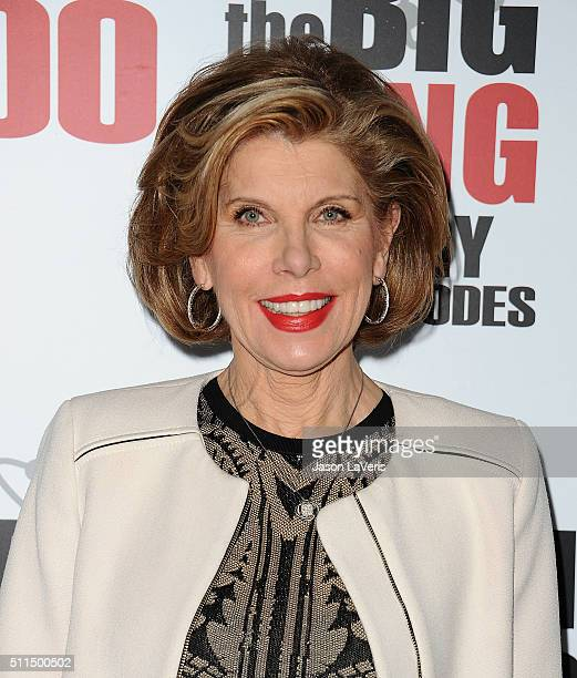 """Actress Christine Baranski attends """"The Big Bang Theory"""" 200th episode celebration at Vibiana on February 20, 2016 in Los Angeles, California."""