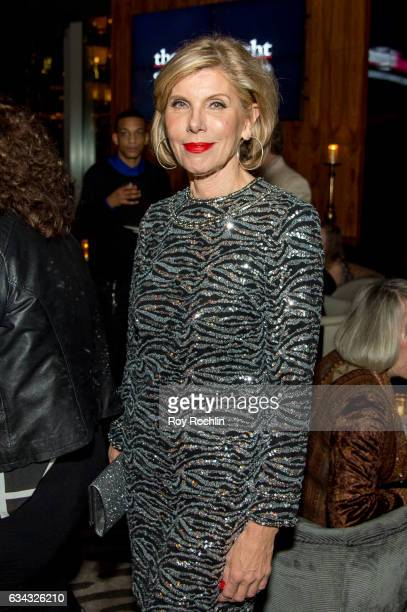 Actress Christine Baranski attends The Good Fight World Premiere After Party at Jazz at Lincoln Center on February 8 2017 in New York City