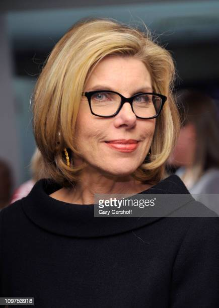Actress Christine Baranski attends the International Women's Day shopping event at the DKNY Store on March 3 2011 in New York City
