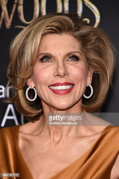 Actress Christine Baranski attends the Into The Woods World Premiere at Ziegfeld Theater on December 8 2014 in New York City