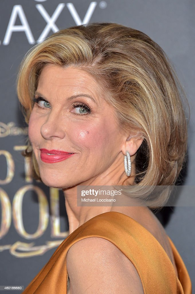 Actress Christine Baranski attends the 'Into The Woods' World Premiere at Ziegfeld Theater on December 8, 2014 in New York City.