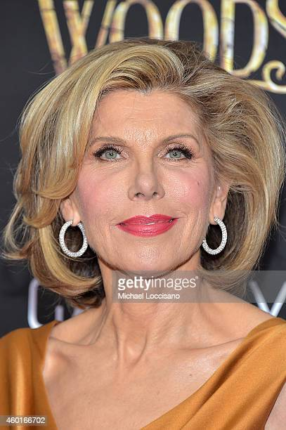 Actress Christine Baranski attends the 'Into The Woods' World Premiere at Ziegfeld Theater on December 8 2014 in New York City