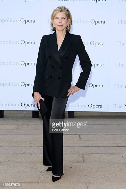 Actress Christine Baranski attends the Metropolitan Opera Season Opening at The Metropolitan Opera House on September 22 2014 in New York City