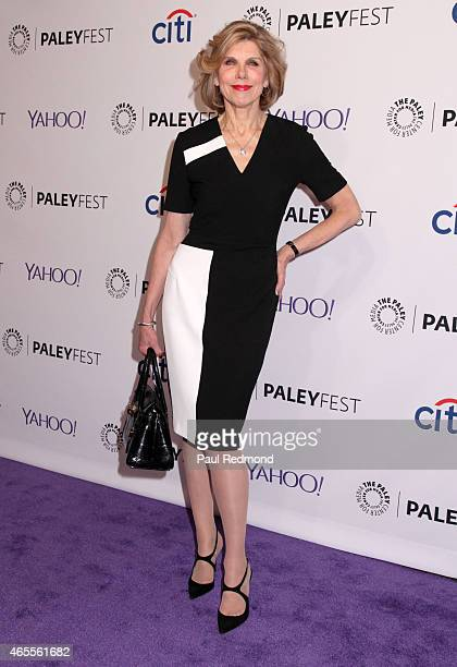 Actress Christine Baranski attends The Paley Center For Media's 32nd Annual PALEYFEST LA 'The Good Wife' at Dolby Theatre on March 7 2015 in...
