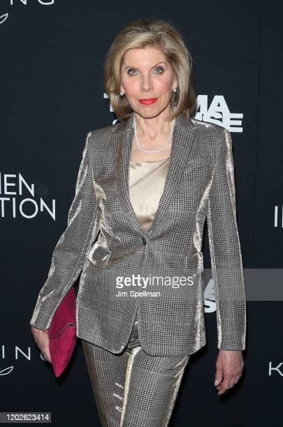 Actress Christine Baranski attends the Thelma Louise Women In Motion screening at Museum of Modern Art on January 28 2020 in New York City