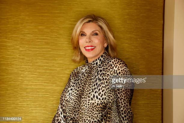 Actress Christine Baranski is photographed for Los Angeles Times on January 30 2019 in Pasadena California PUBLISHED IMAGE CREDIT MUST READ Al...