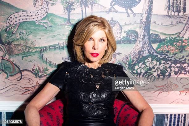 Actress Christine Baranski is photographed for The Wrap on May 2 2018 in New York City PUBLISHED IMAGE