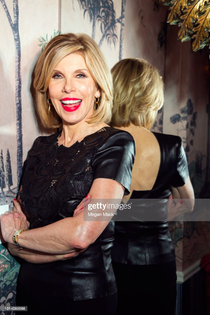 Christine Baranski, The Wrap, May 25, 2018