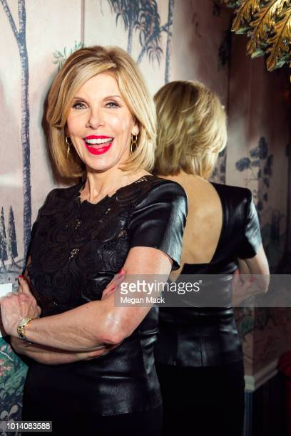 Actress Christine Baranski is photographed for The Wrap on May 2 2018 in New York City