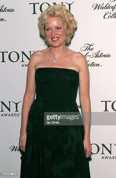 Actress Christine Ebersol attends The Tony Awards Honor Presenters And Nominees at the Waldorf Astoria on June 10 2006 in New York