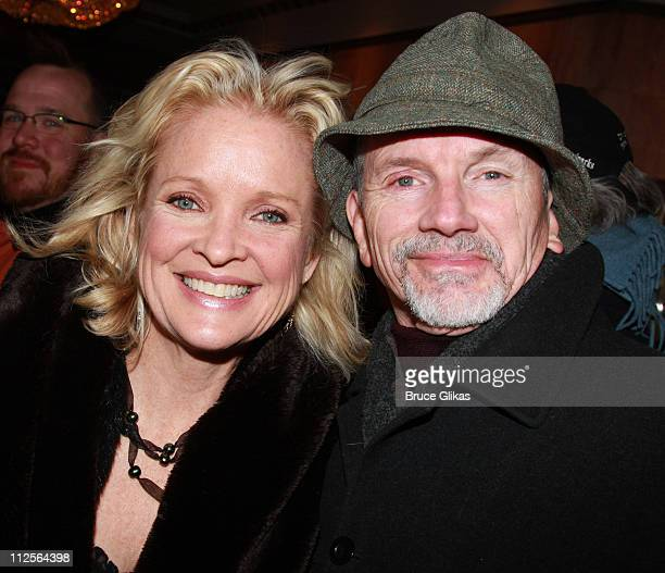 Actress Christine Ebersole and husband Bill Moloney pose as they arrive at The Opening Night for The Steppenwolf Theater Company's August Osage...