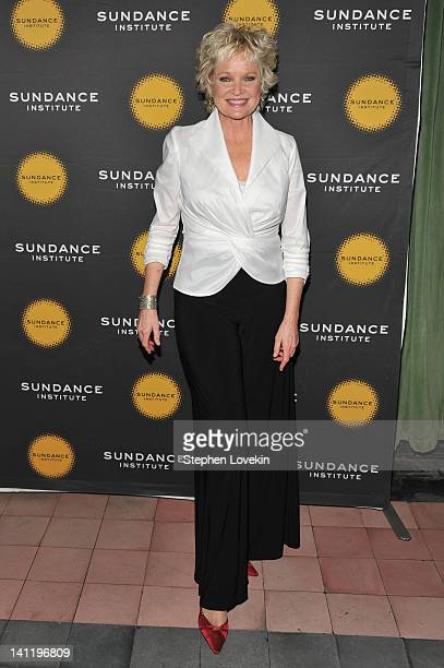 Actress Christine Ebersole attends the 2012 Sundance Institute Theatre Program New York benefit reception at The Bowery Hotel on March 12 2012 in New...