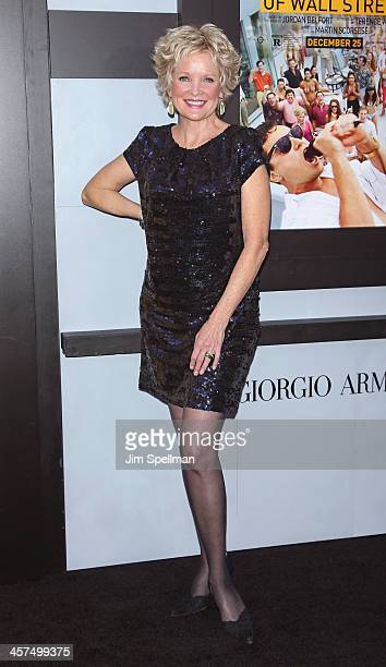 Actress Christine Ebersole attends the 'The Wolf Of Wall Street' premiere at Ziegfeld Theater on December 17 2013 in New York City